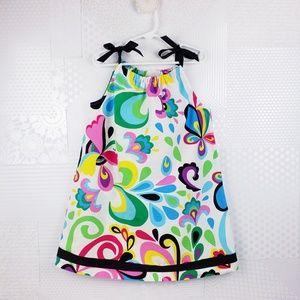 Hanna Andersson | Pillowcase Ribbon Dress, sz 5